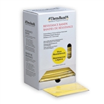 Thera-Band 30-band Dispenser Pack, Yellow Thin