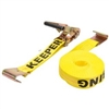 "Keeper 2"" X 27' Tie Down Ratchet W/Flat-Hook"