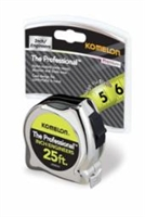 Komelon 25' Inch/Engineer Tape Measure