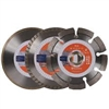 "Husqvarna 4 1/2"" Diamond Blade 3 Pack"