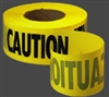 "Empire Level 3"" X 1000' Caution Tape"