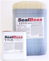 SealBoss 1510 WaterStop Foam w/ 15x Accelerator 5gal