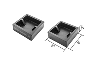 "Butterfield 6"" Table Leg Mold Block Set"