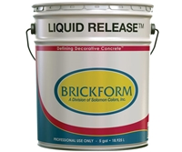 Brickform Liquid Release Clear 1 Gal.
