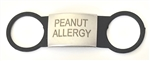 Allergy ID Tag Peanut / Black