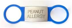 Allergy ID Tag Peanut / Blue