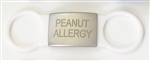 Allergy ID Tag Peanut / White
