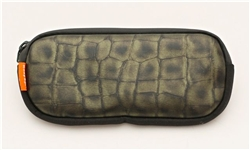 Duo Pouch: Green Gator