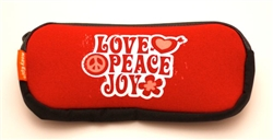 Duo Pouch: Love Peace Joy (See more colours)