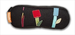 Duo Pouch: Patchwork Flowers