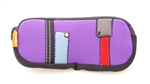 Duo Pouch: Patchwork Purple