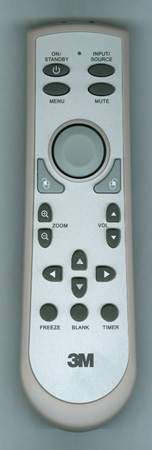 3M 78-8134-7200-4 Genuine  OEM Original Remote