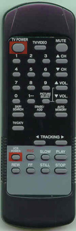ACTION ACN5932REMOTE Genuine OEM Original Remote