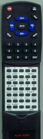 ADCOM GRC-820 GRC820 Custom Built Redi Remote