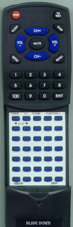 ADMIRAL 63931306 PL3100P Custom Built Redi Remote