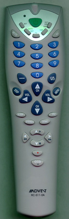 ADVENT 301-SK2117-110 RC-S11-OA Genuine  OEM original Remote
