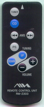 AIWA 1-477-833-11 RMZ303 Genuine OEM original Remote