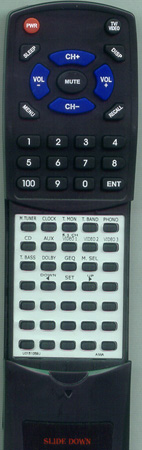AIWA 87AR7650010 RC7AR02 Custom Built Redi Remote