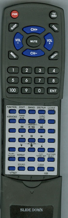 AIWA 1-477-842-11 RM-Z20004 Custom Built Redi Remote