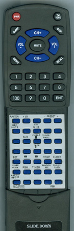 AIWA 8CCL6701010 RCCAS07 Custom Built Redi Remote