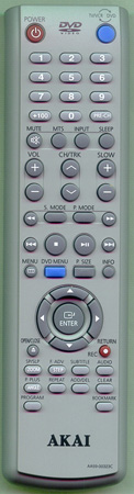 AKAI AA59-00323C Genuine  OEM original Remote