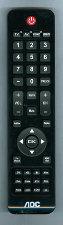 AOC 098GR7BDBNEACD Genuine OEM Original Remote