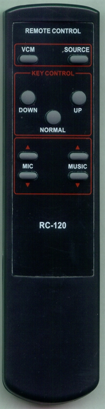 AUDIO 2000 ACC7050-011 RC120 Genuine  OEM Original Remote