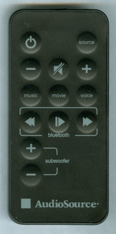 AUDIO SOURCE S3D650 Genuine OEM original Remote