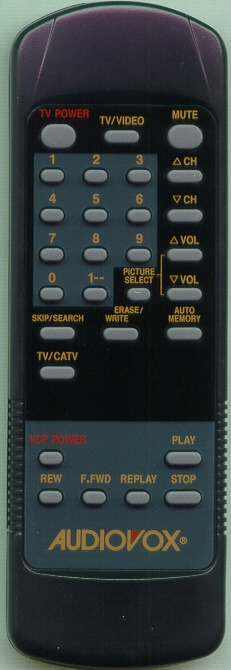 AUDIOVOX 0892325 Genuine  OEM Original Remote