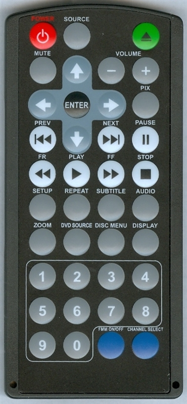 AUDIOVOX 1364509 Genuine OEM Original Remote