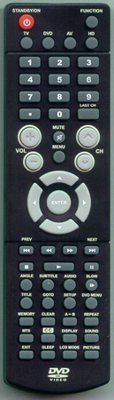 AUDIOVOX PLV31199S1 Genuine OEM original Remote