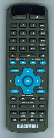 BLACKMORE BDDNAV6REMOTE Genuine OEM original Remote