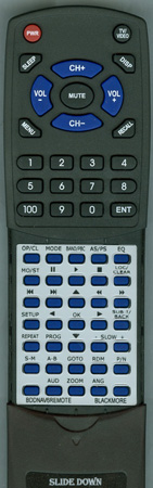 BLACKMORE BDDNAV6REMOTE Custom Built Replacement Redi Remote