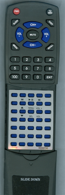 BROOKSTONE IT588459 Custom Built Redi Remote