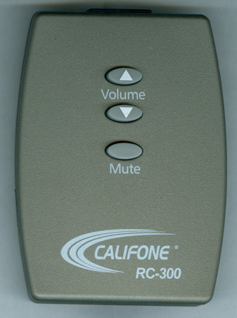 CALIFONE RC-300 Genuine OEM Original Remote