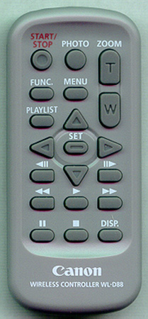 CANON D83-0770-000 WL-D88 Genuine  OEM original Remote