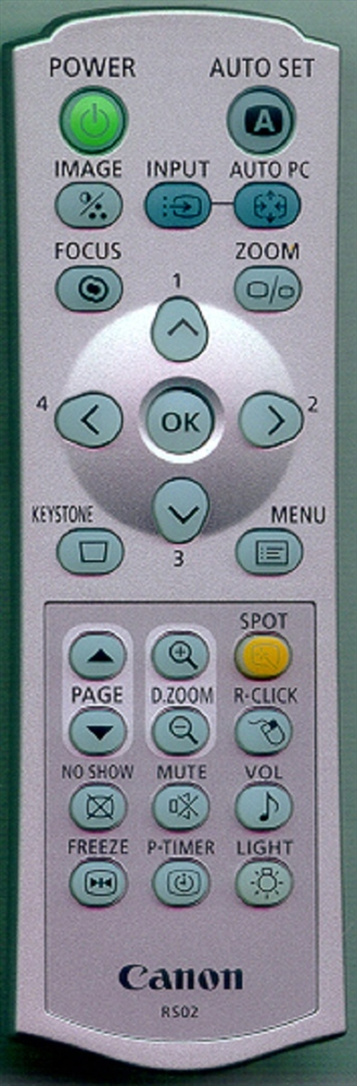 CANON YH7-2145-000 RS02 Genuine OEM Original Remote