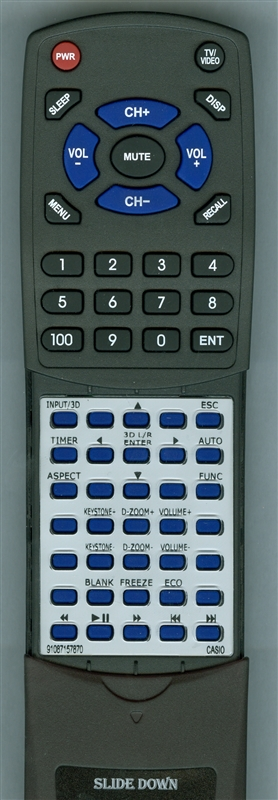 CASIO 91087157870 YT-140 Custom Built Redi Remote