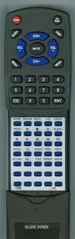 CAVS CD098E Custom Built  Redi Remote