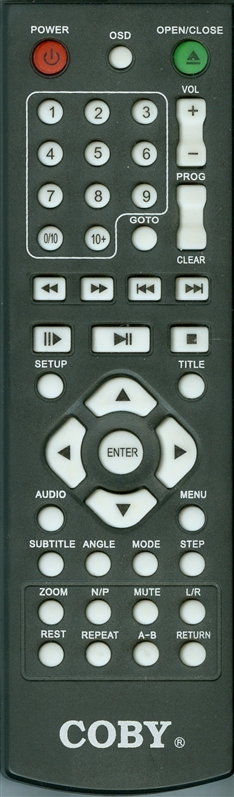 COBY DVD288V2 Genuine  OEM Original Remote