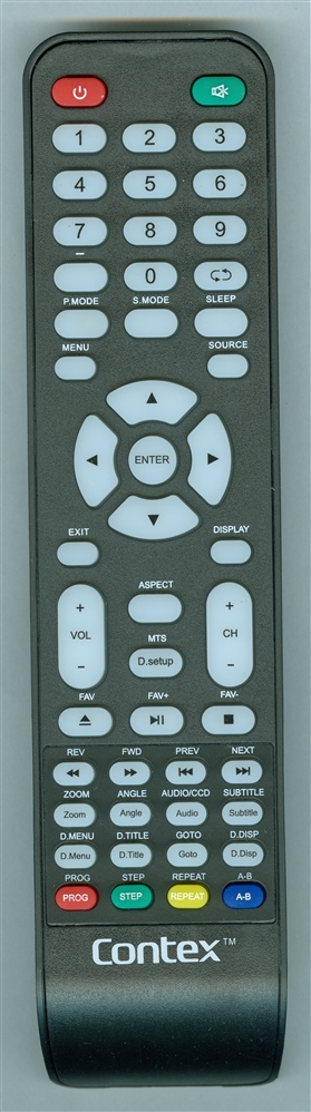 CONTEX LE39D3H Genuine OEM Original Remote
