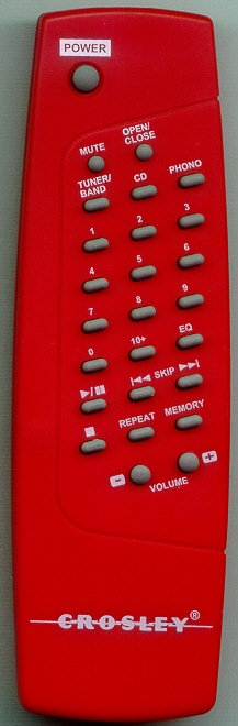 CROSLEY CR712 RED Genuine  OEM Original Remote