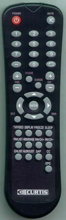 CURTIS INTERNATIONAL LCD2226A Genuine  OEM Original Remote