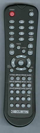 CURTIS INTERNATIONAL LCDVD195A Genuine  OEM Original Remote