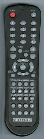 CURTIS INTERNATIONAL LCDVD2223A Genuine  OEM Original Remote