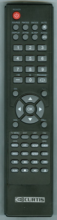 CURTIS INTERNATIONAL LCDVD2454AB Genuine  OEM Original Remote