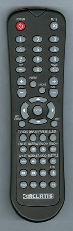 CURTIS INTERNATIONAL LCDVD326AV1 Genuine  OEM original Remote