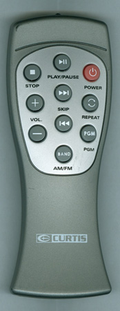 CURTIS INTERNATIONAL RCD544 Genuine OEM Original Remote