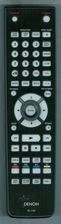 DENON 307010061000D RC-1140 Genuine OEM Original Remote