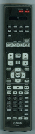 DENON 307010088005D RC-1157 Genuine  OEM Original Remote